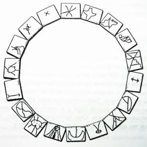 Исцеляющий круг из символов Архангела Михаила