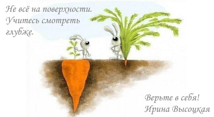 Каждый человек - Мастер. Ирина Высоцкая.