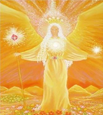 Сияющий свет сердца Ангела