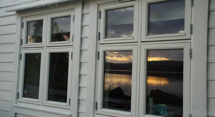 Закат из моего окна.