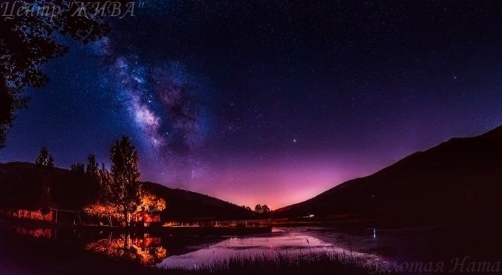 Ночь. Неприметная красота.