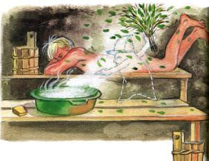 Баня улучшает настроение и очищает энергетику.